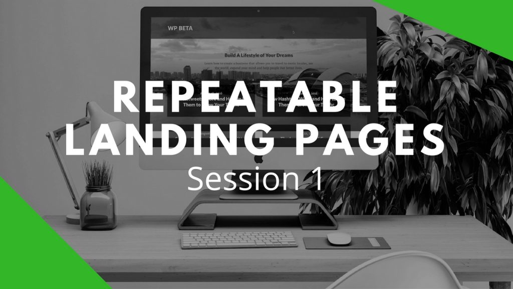 How To Quickly Create A Beautiful Landing Page